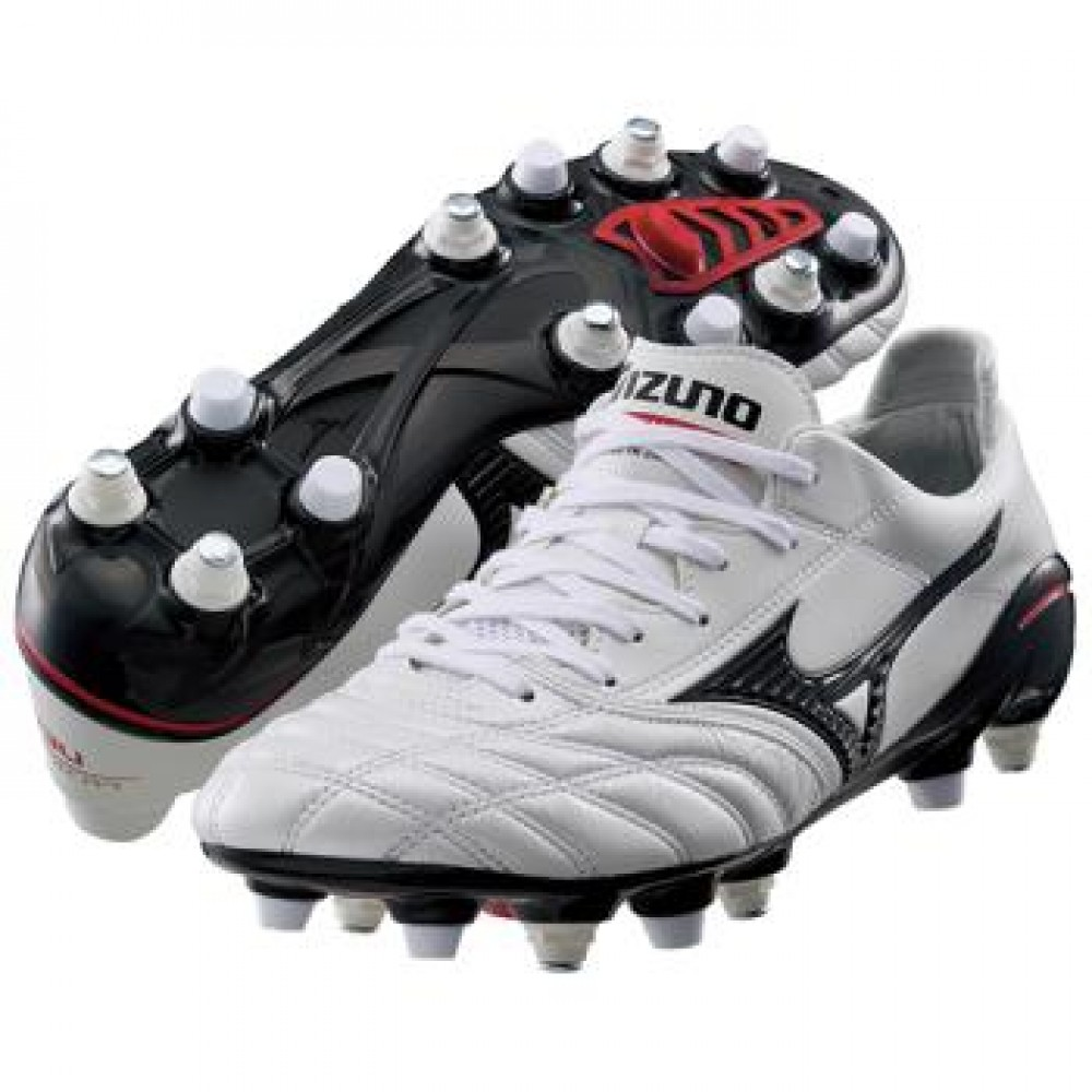 Details about MIZUNO soccer shoes Spike MIZUNO MORELIA NEO MIX 12KS303  white pearl X black 66614be2a7f47