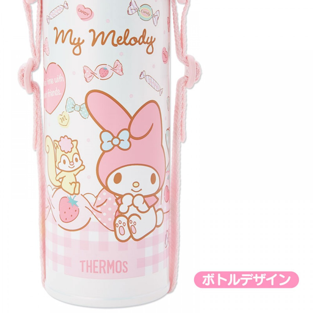 My Melody Thermos Stainless Popper Straw Bottle 500ml Sanrio F S Mini Carakter 500 Ml Item Specifics