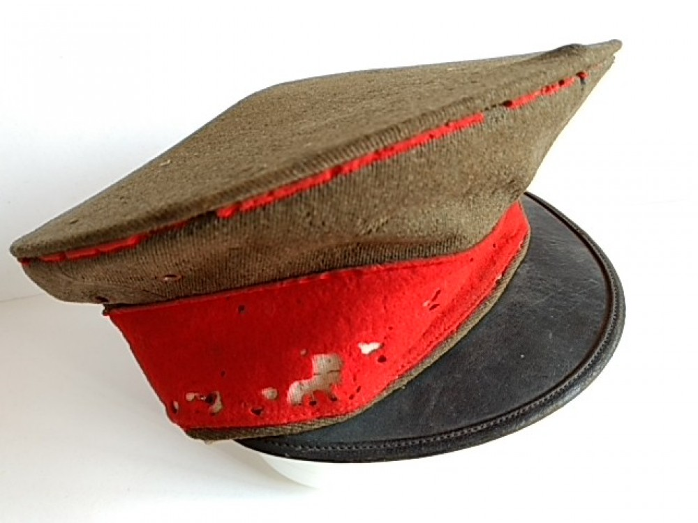 dec9be814 Details about WW2 II Japanese Military Imperial Soldier's Hat Cap Battle  Army Uniform -G-