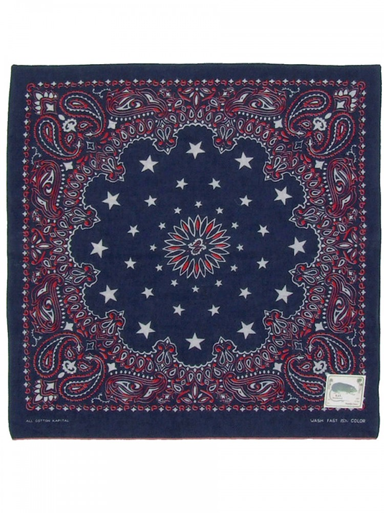 Kapital Capital Fast Color Cosmic Star Paisley Selvage Bandana Scarf Japan Brand Ebay