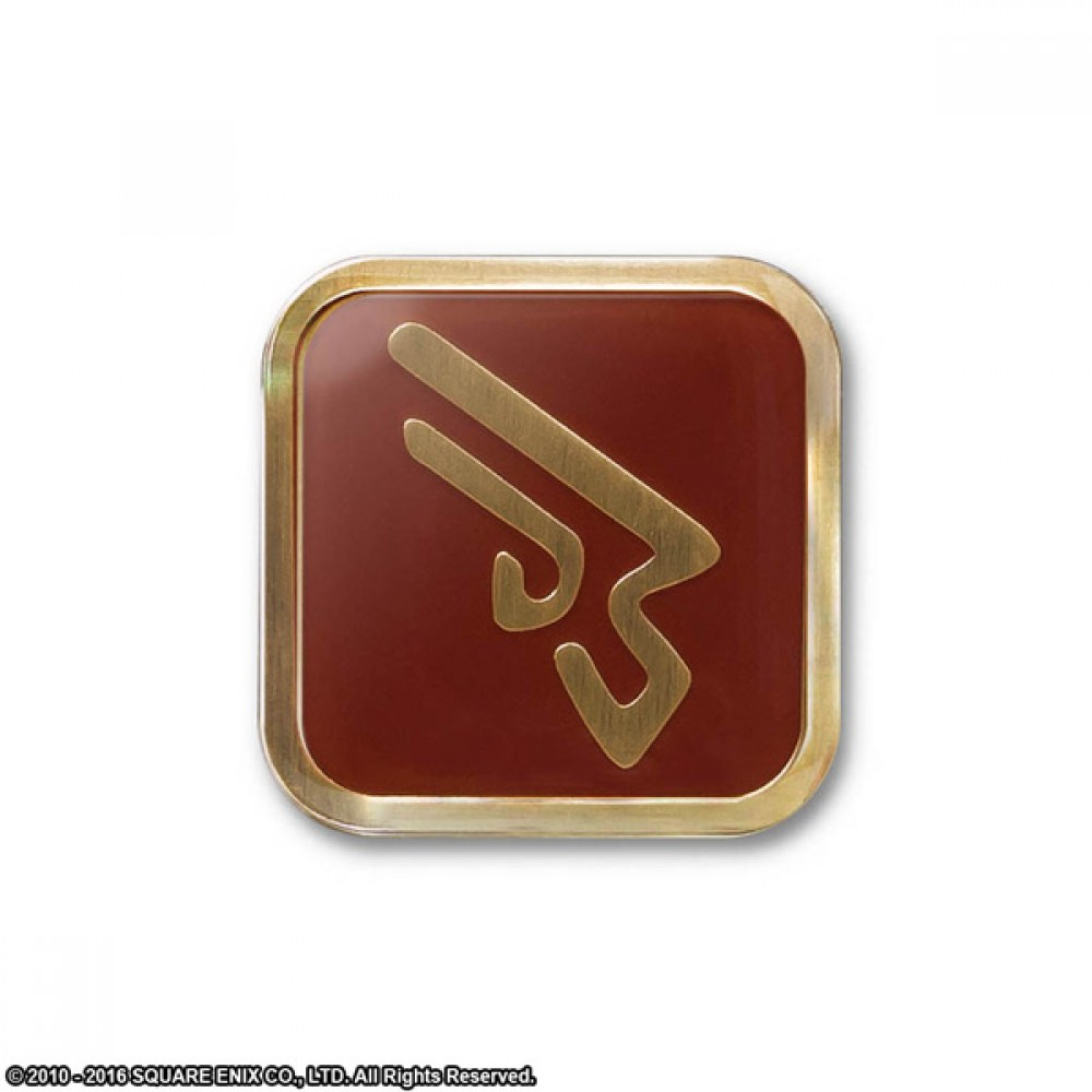 """Final Fantasy XIV Job Pin Badge Pins /"""" Machinist /"""" Square Enix official Limited"""