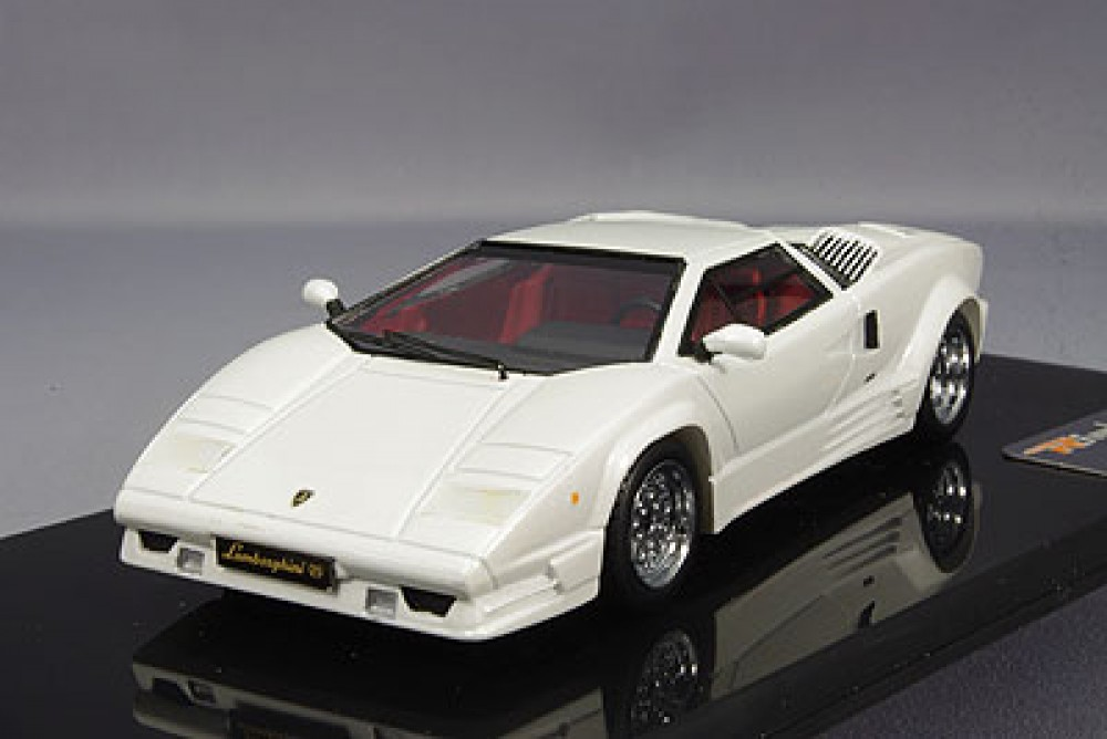 Rim 1 43 Lamborghini Countach 25th Anniversary White Rim71042 Resin