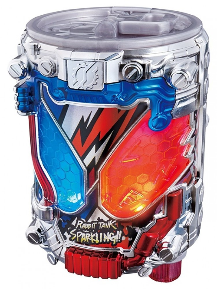 BANDAI Kamen Masked Rider Build DX Genius Full Bottle from JAPAN with track