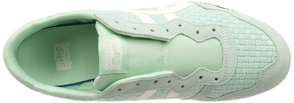 531892a480ba asics Japan Onitsuka Tiger SERRANO SLIP-ON D877N Mist green × cream ...