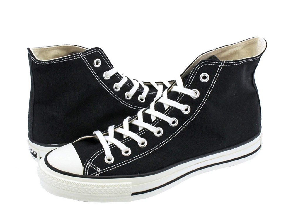 9d09e41a0220 CONVERSE ALL STAR J VTG 50 HI TimeLine Black Made in Japan