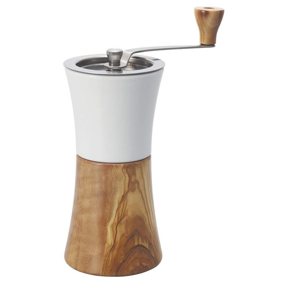 Hario Coffee Mill Hand Grinder Mcw 2 Ov Olive Wood 16785215mm V60 Server Kit Vcsd 02 R Product Details