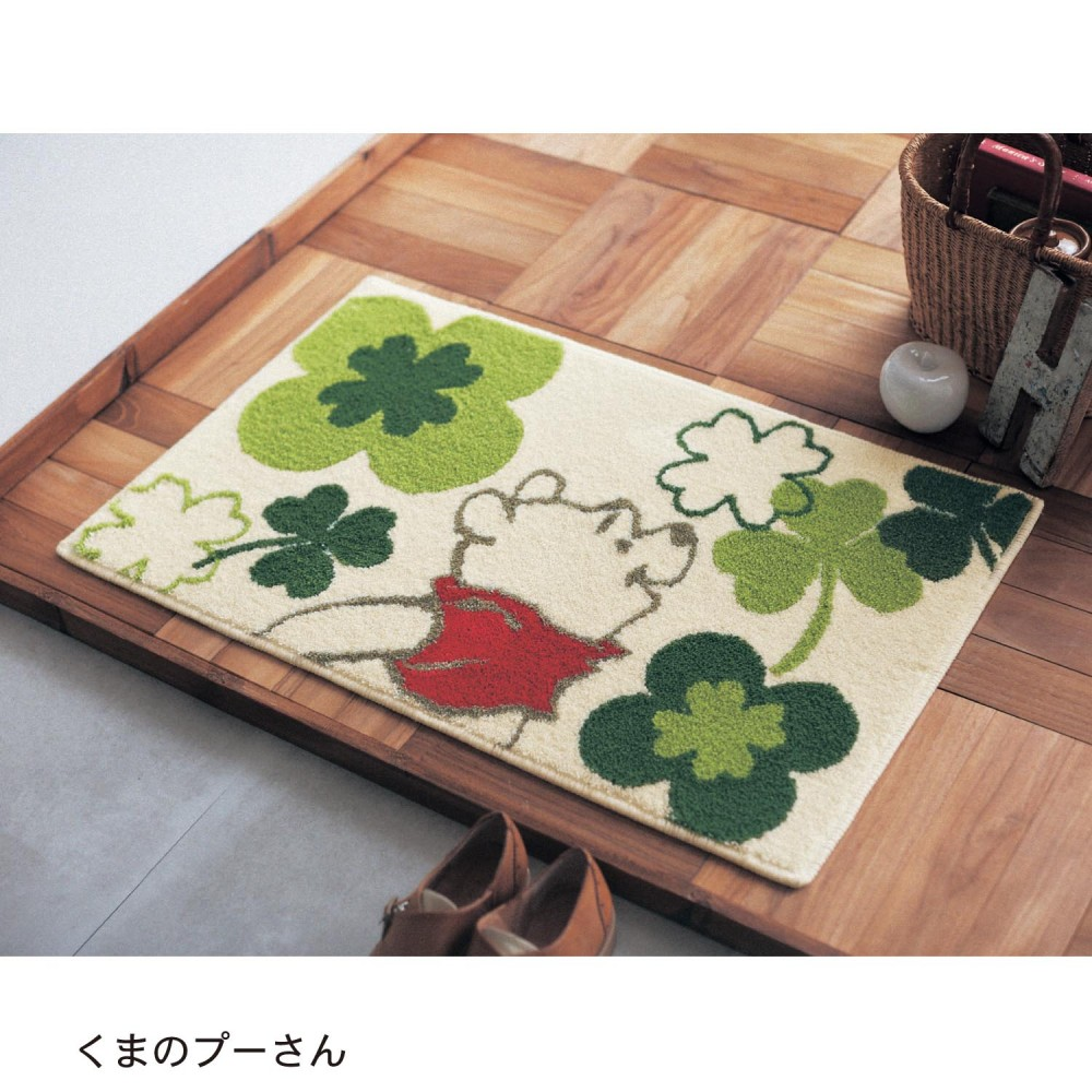 Details About Disney Winnie The Pooh Entrance In Door Mat Room Mini Floor Rug From An E5591