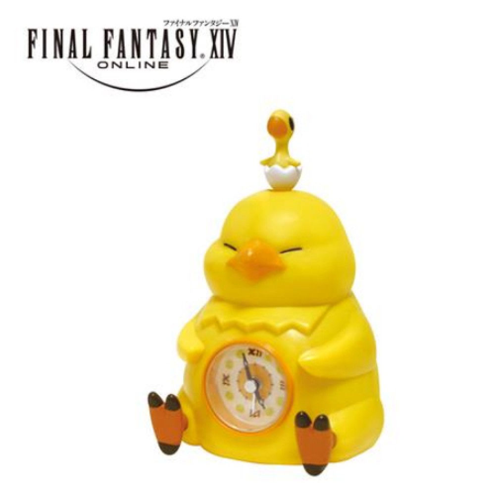 Details about Final Fantasy XIV Fat Chocobo Alarm Clock TAITO Free Shipping