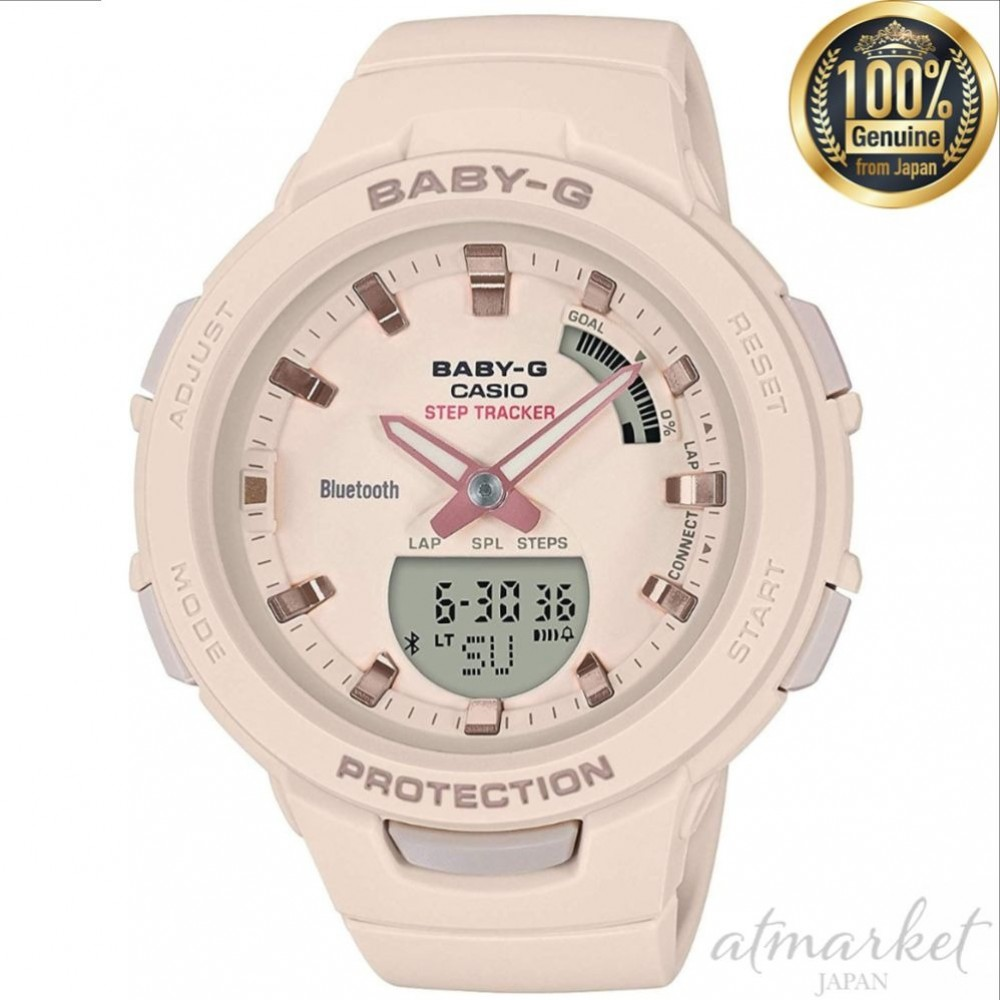 c157e62fc9 Details about NEW CASIO Watch BABYG G-SQUAD BSA-B100-4A1JF Women in Box  genuine from JAPAN