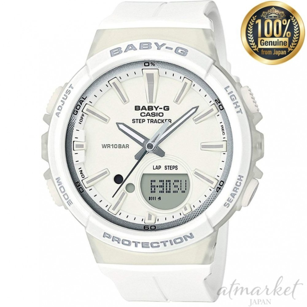 9dc8cfe9960a Description. CASIO Watch Baby-G ~ for running ~ STEP TRACKER BGS-100-7A1  Women's from JAPAN