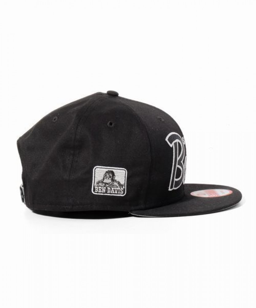 9c1c2e5b54453 NEW ERA × BEN DAVIS Collaboration 9FIFTY Snapback Cap Adjustable ...