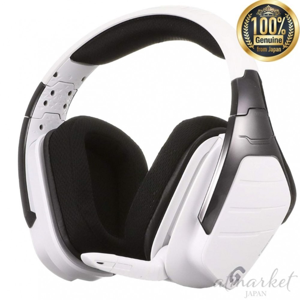 Logitech Headset G933rwh Gaming Pc Ps4 Wireless Rgb Surround Dolby Dts 7 1ch New 4943765044635 Ebay