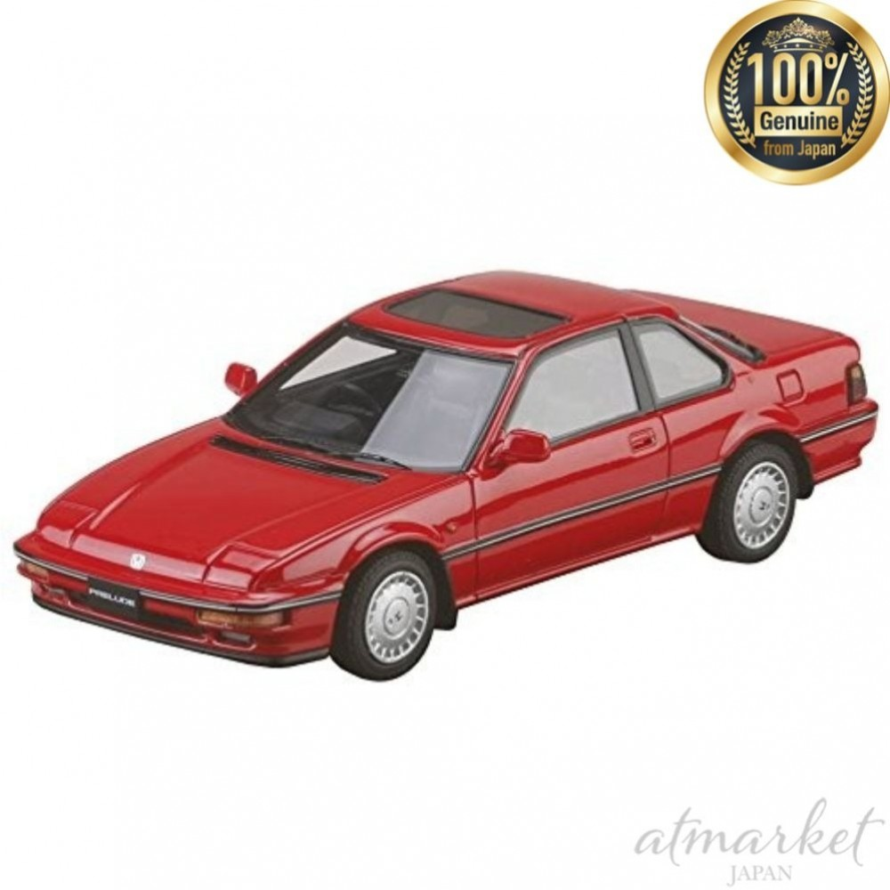Details about MARK43 PM4362NR Car 1/43 Honda Prelude Si (BA5) 1987 Phoenix  Red Finished Goods