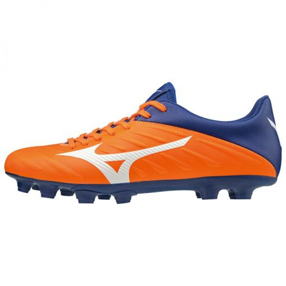 aa2ce6ef2 Details about Mizuno Soccer Shoes Spike REBULA 2 V3 Wide P1GA1975 Orange ×  White × Blue