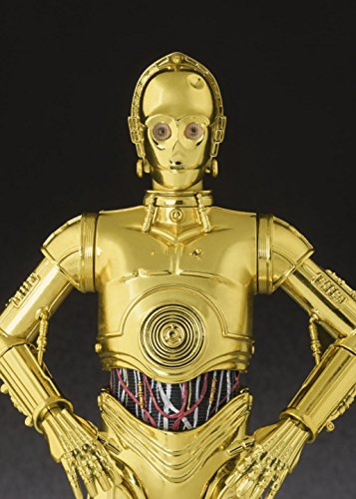 3 PO H Approximately 155 mm ABS /& PVC painted movable figure Figuarts Star Wars C Bandai S A NEW HOPE
