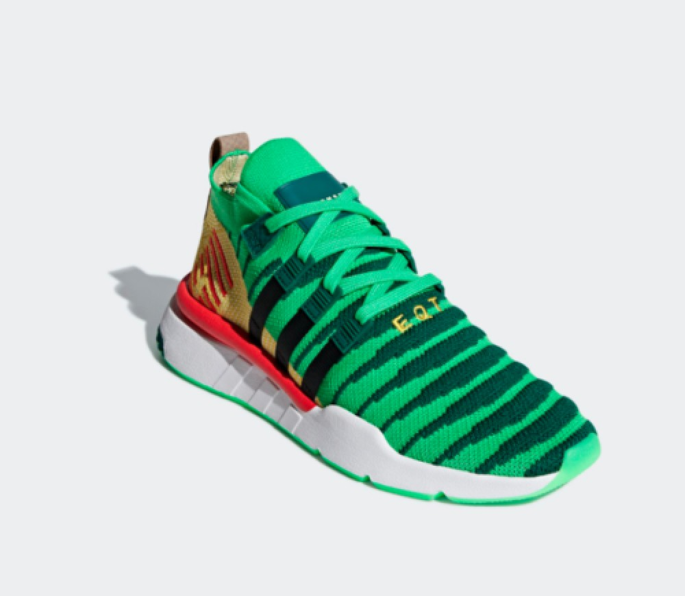 huge selection of 48bd6 44080 Details about Adidas × dragon ball Shenron EQT MID color GREEN SIZE 23cm(US  MENS SIZE5)