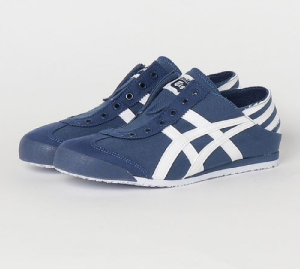 onitsuka tiger mexico 66 black blue zoom navy