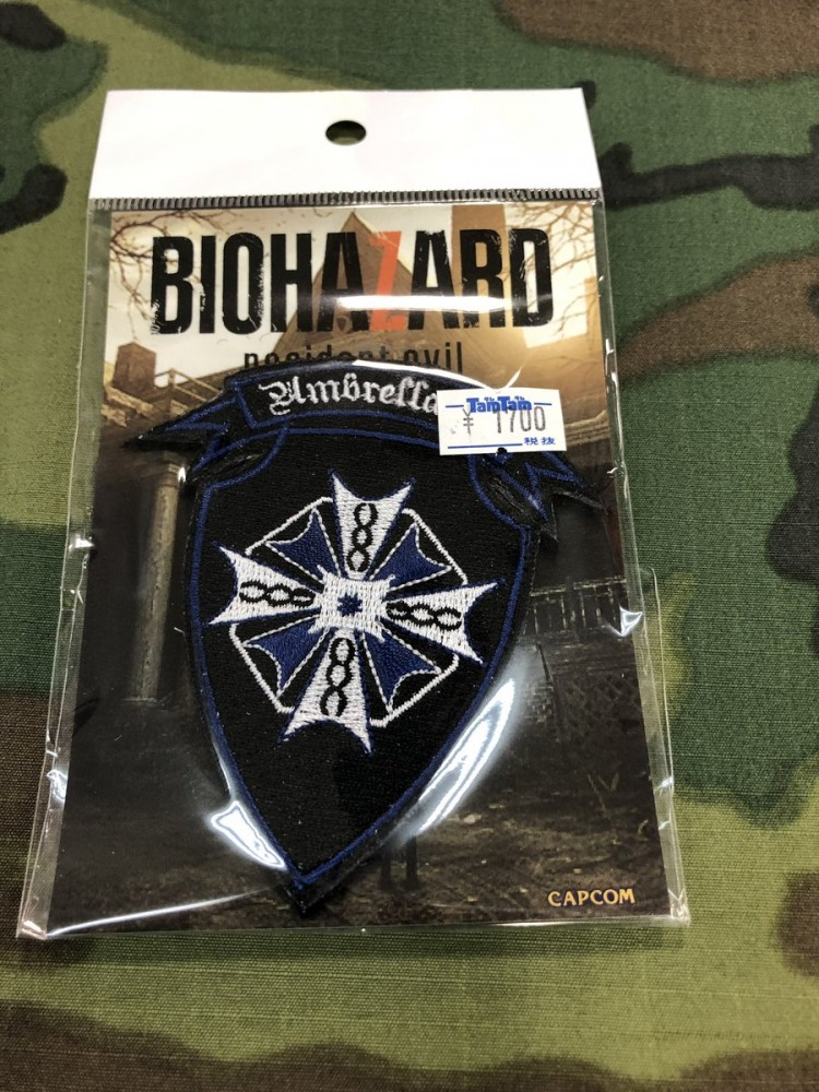 Biohazard 7 Patch Umbrella Insignia Patch Japan Resident Evil