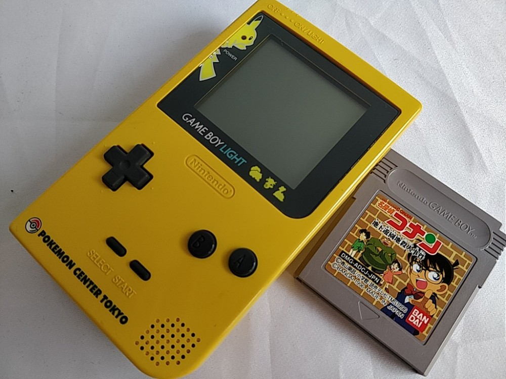 Details about Nintendo Gameboy Light Pokemon Pikachu limited edition  console set MGB-101-b807-