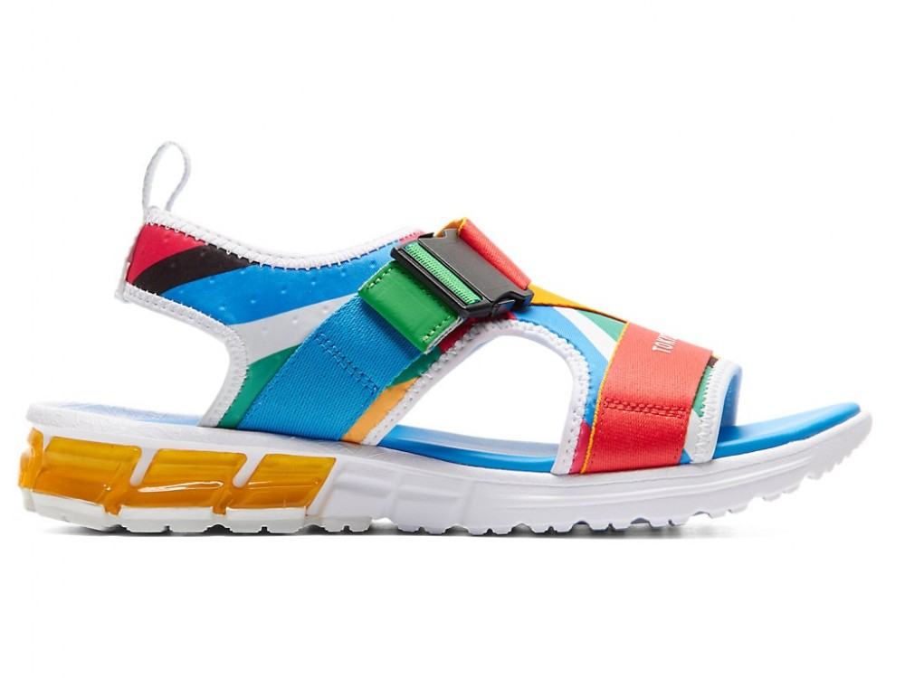 low priced best quality top brands Details about asics Tokyo 2020 Olympic Emblem Sandals GEL-QUANTUM 90 SD  1023A015 Multi