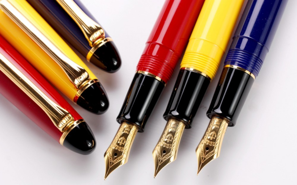 SAILOR 11-1201-270 Fountain Pen 1911 Color Yellow Fine from Japan