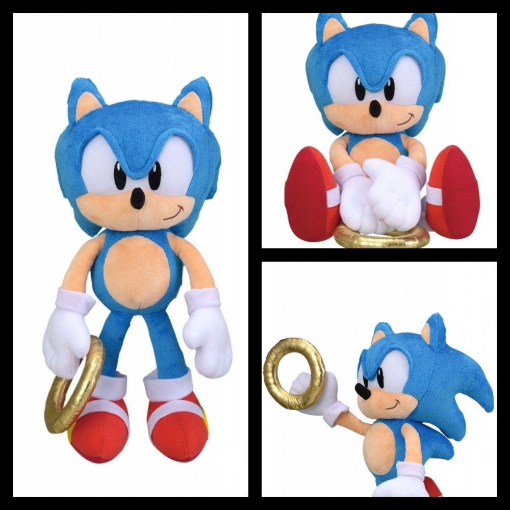 Classic Sonic The Hedgehog Outing Ring Plush Doll Toy Anime Game Japan 2019 Ebay