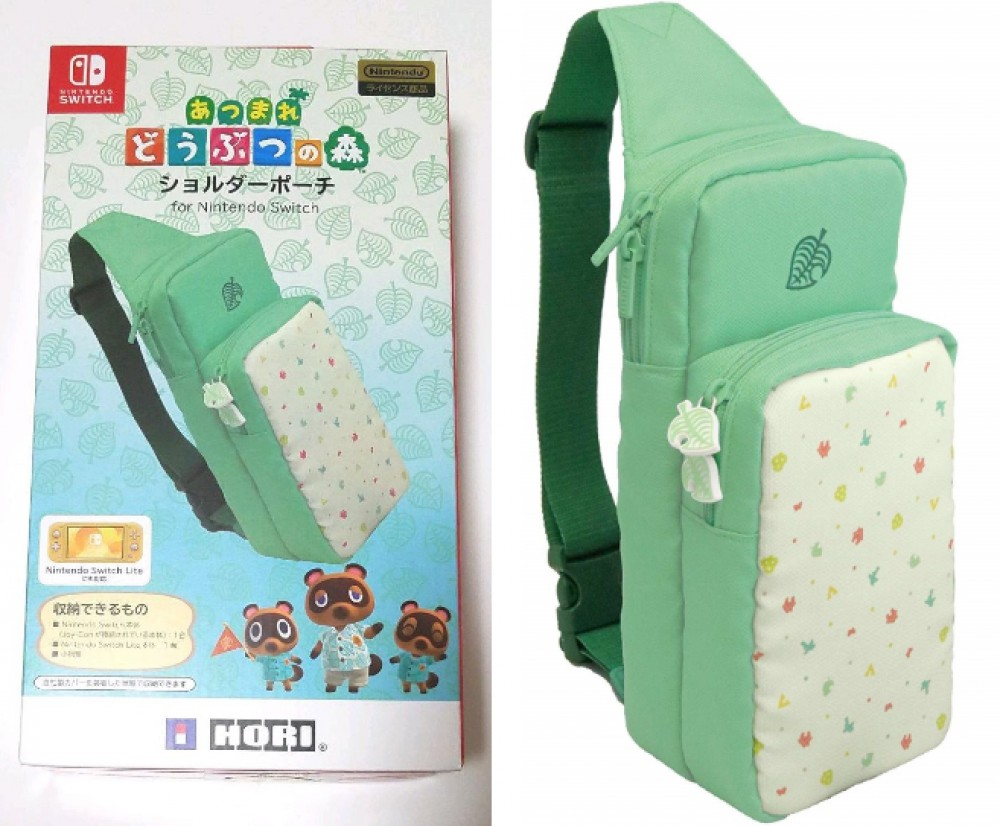 Animal Crossing Hori Nintendo Switch Shoulder Bag Pouch Case Nsw