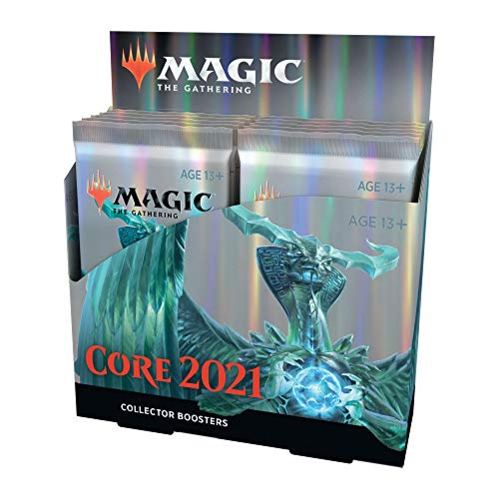 Min 4 Rares Per Pack Magic: The Gathering Core Set 2021 Collector Booster 15 Cards M21