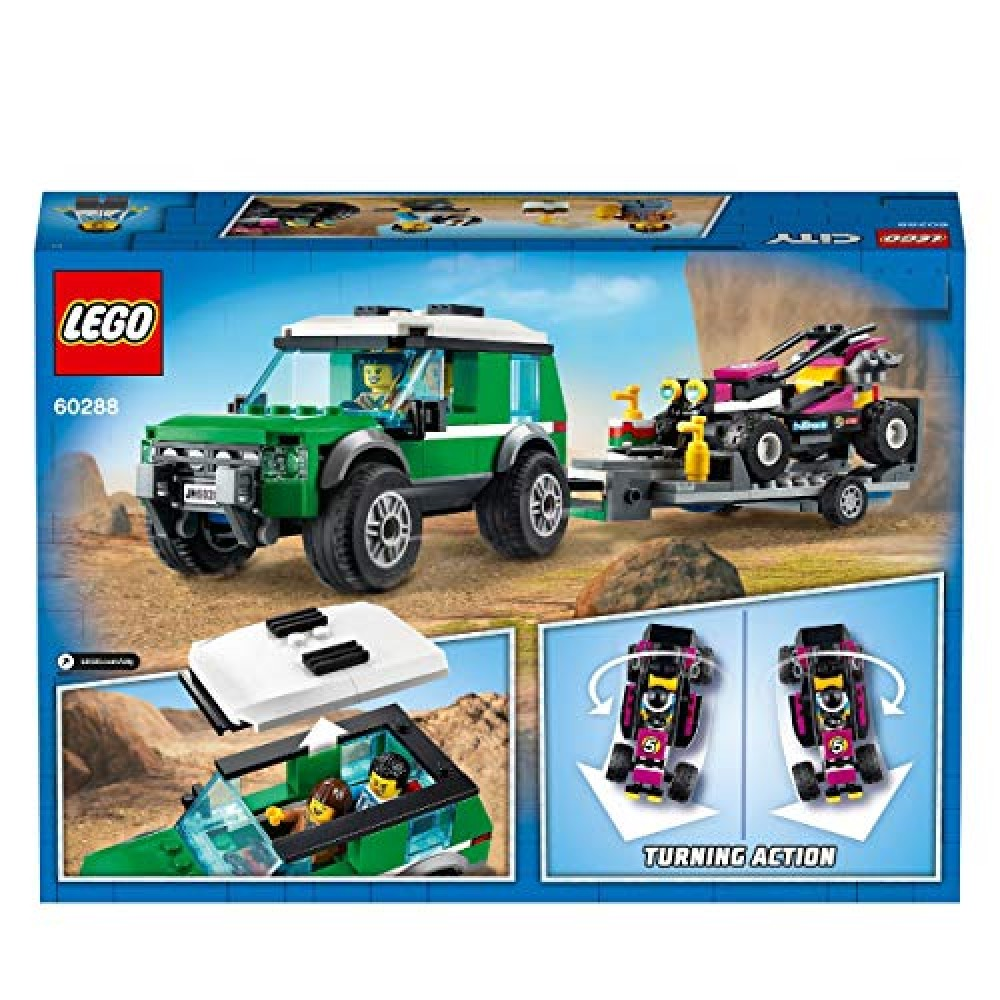 NEW LEGO City Race Buggy Transport Vehicle 60288 from ...