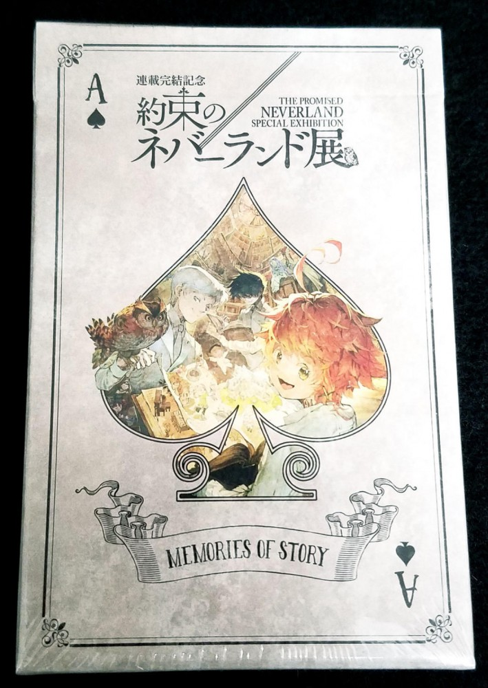 THE PROMISED NEVERLAND SPECIAL EXHIBITION Playing cards Jump